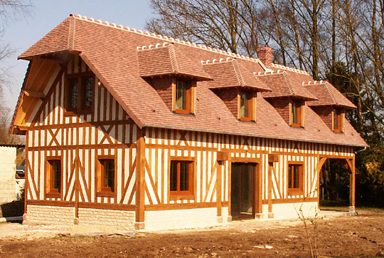 Christophe douvenou construction restauration normande - Restauration maison normande ...